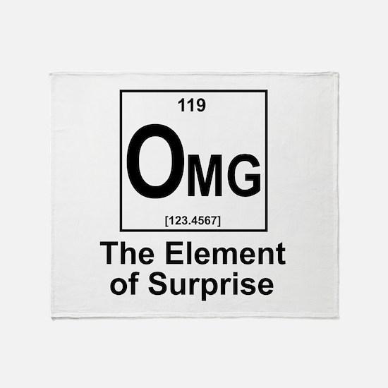 Element Omg Throw Blanket