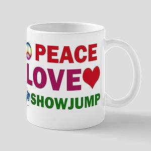 Peace Love Showjump Designs Mug