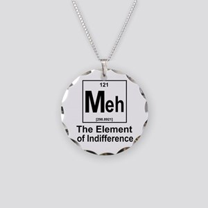 Element Meh Necklace Circle Charm
