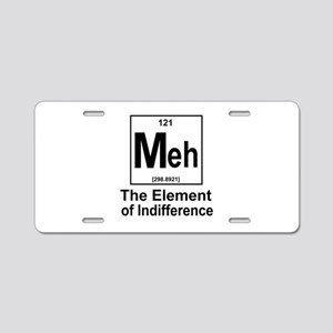 Element Meh Aluminum License Plate