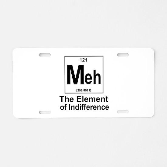 Element Meh Aluminum License Plate