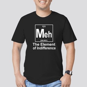 Element Meh Men's Fitted T-Shirt (dark)