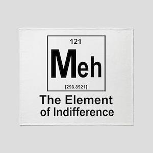 Element Meh Throw Blanket