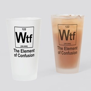 Element Wtf Drinking Glass