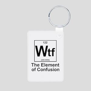 Element Wtf Aluminum Photo Keychain