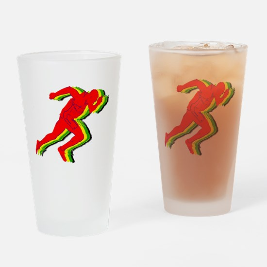 Usain Colors Drinking Glass