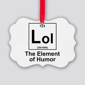 Element lol Picture Ornament