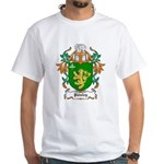 Paisley Coat of Arms White T-Shirt