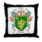 Paisley Coat of Arms Throw Pillow