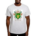 Paisley Coat of Arms Ash Grey T-Shirt