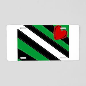 boi Aluminum License Plate
