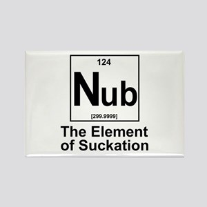 Element Nub Rectangle Magnet