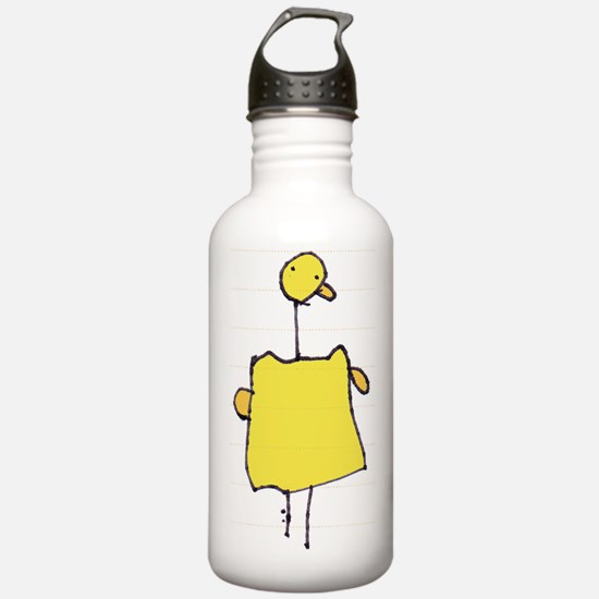 Quackie the Duck Water Bottle