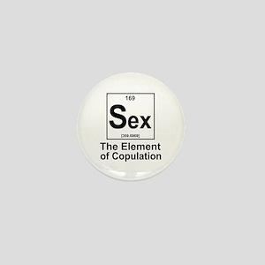 Element Sex Mini Button