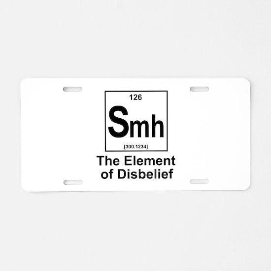 Elment Smh Aluminum License Plate