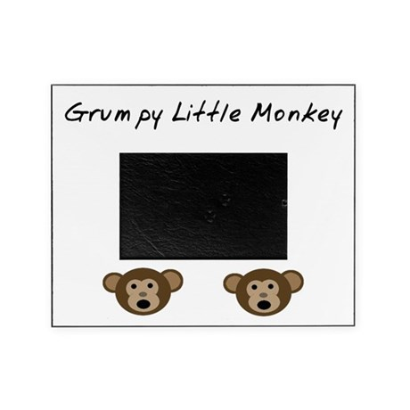 Grumpy Little Monkey Picture Frame