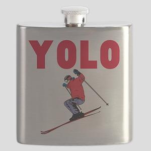Yolo Skiing Flask
