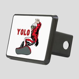 Yolo Snowboarding Rectangular Hitch Cover