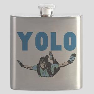 Yolo Skydiving Flask