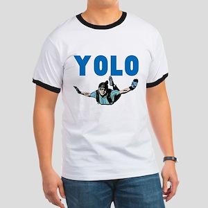 Yolo Skydiving Ringer T