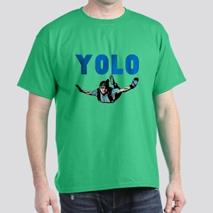 Yolo Skydiving Dark T-Shirt