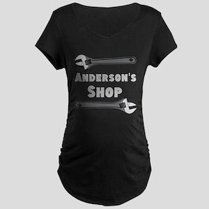 Personalized Shop Maternity Dark T-Shirt