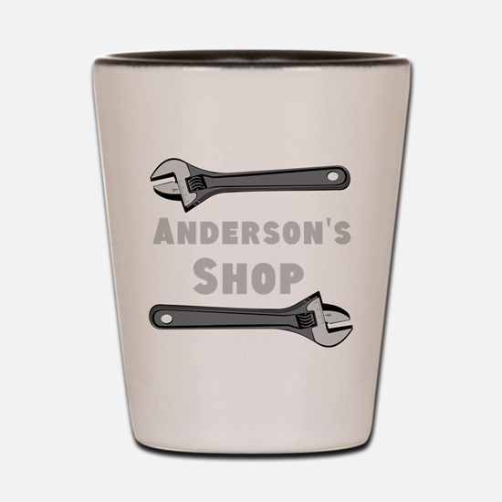 Personalized Shop Shot Glass