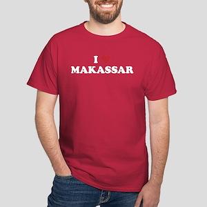 I Love Makassar Dark T-Shirt