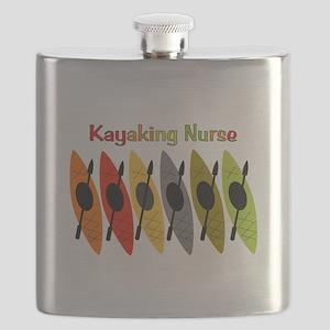 Kayaking Nurse Flask