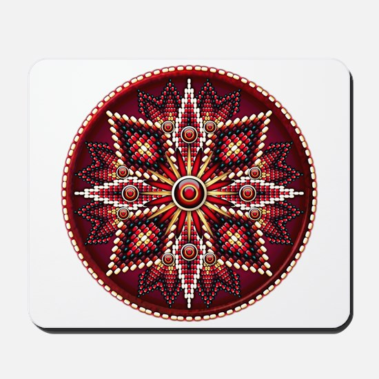 Native American Rosette 14 Mousepad