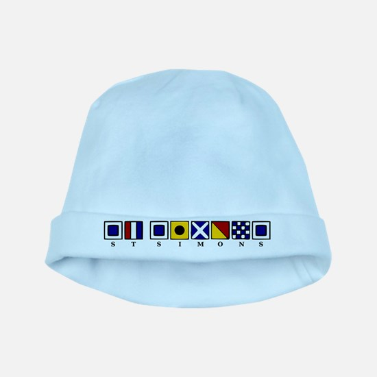 St. Simons baby hat