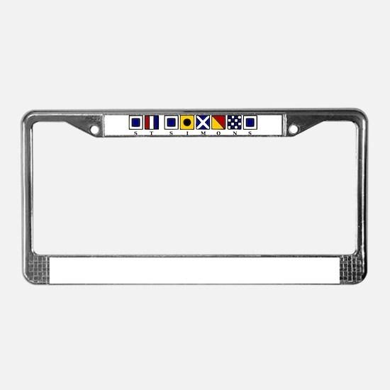 St. Simons License Plate Frame