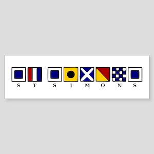 St. Simons Sticker (Bumper)