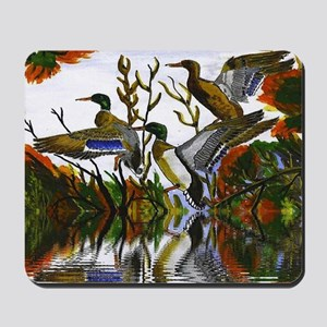 Duck Flight Reflection Mousepad