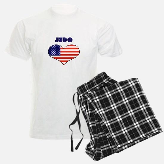 LOVE JUDO STARS AND STRIPES Pajamas