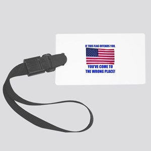 Flag1a Large Luggage Tag