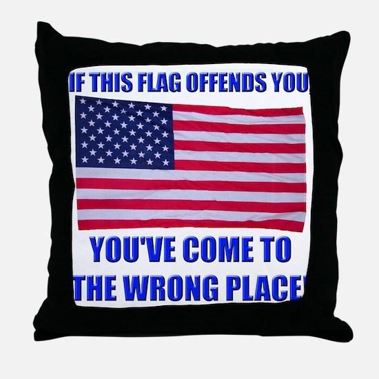 Flag1a Throw Pillow