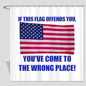 Flag1a Shower Curtain