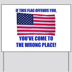 Flag1a Yard Sign