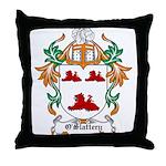 O'Slattery Coat of Arms Throw Pillow