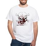 Skull- Custom White T-Shirt