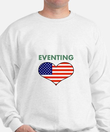LOVE EVENTING STARS AND STRIPS Sweatshirt
