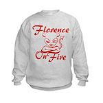 Florence On Fire Kids Sweatshirt