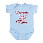 Florence On Fire Infant Bodysuit