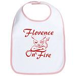 Florence On Fire Bib