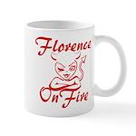 Florence On Fire Mug