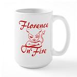 Florence On Fire Large Mug
