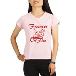 Frances On Fire Performance Dry T-Shirt