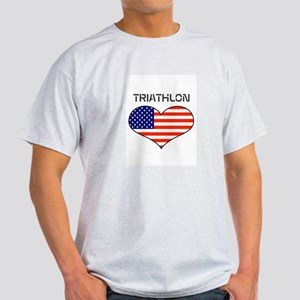 LOVE TRIATHLON STARS AND STRIPES Light T-Shirt