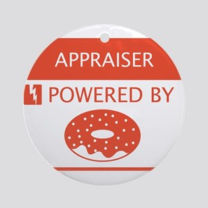 Appraiser Powered by Doughnuts Ornament (Round)